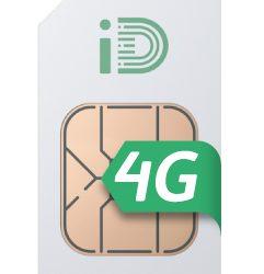 ID Mobile 2000 Mins 5000 Text 6GB Shockproof PAYM 4G SIM